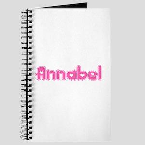 """""""Annabel"""" Journal"""
