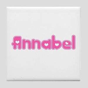 """Annabel"" Tile Coaster"