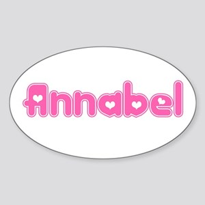 """Annabel"" Oval Sticker"