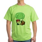 Gnome What I Mean Green T-Shirt