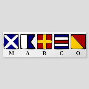 Marco Island Sticker (Bumper)