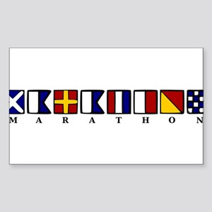 Marathon Sticker (Rectangle)