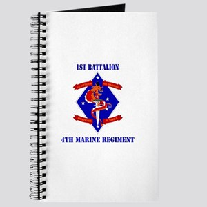 1st Battalion - 4th Marines with Text Journal