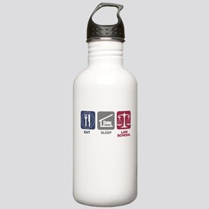 Eat Sleep Law School Stainless Water Bottle 1.0L