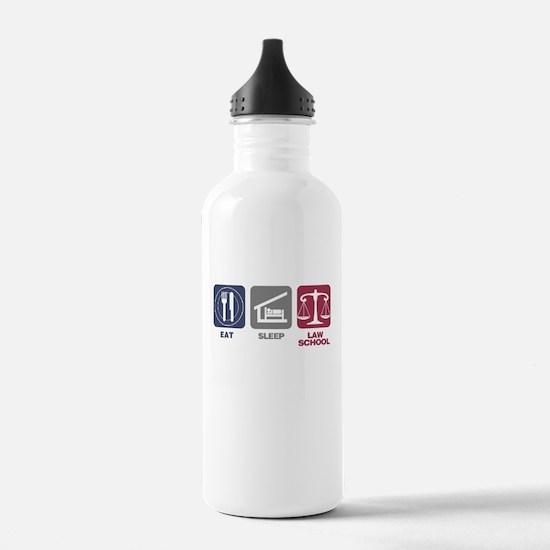 Eat Sleep Law School Water Bottle