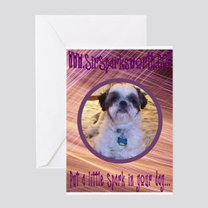 Spark It Up Greeting Card