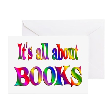 About Books Greeting Cards (Pk of 20)