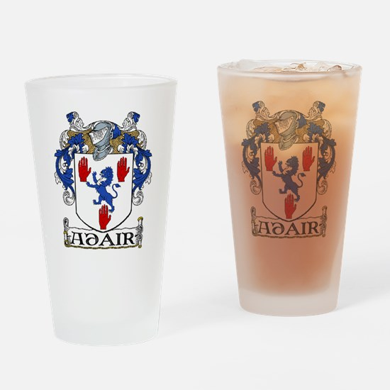 Adair Coat of Arms Drinking Glass