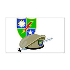 SOF - Ranger DUI - Beret 22x14 Wall Peel