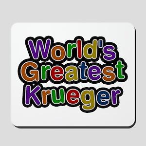 World's Greatest Krueger Mousepad