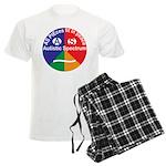 Autistic Spectrum symbol Men's Light Pajamas