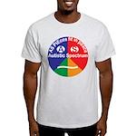 Autistic Spectrum symbol Light T-Shirt