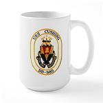USS CUSHING Large Mug