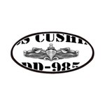 USS CUSHING Patches