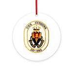 USS CUSHING Ornament (Round)