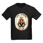 USS CUSHING Kids Dark T-Shirt