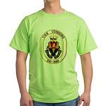 USS CUSHING Green T-Shirt