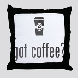 Got Coffee? Throw Pillow