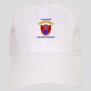 1st Battalion 5th Marines with Text Cap