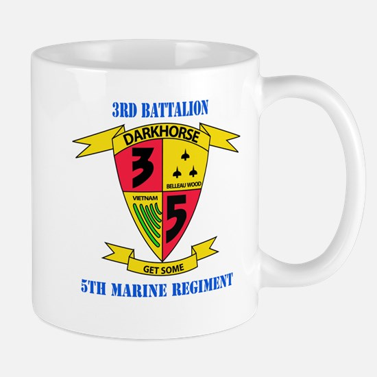 3rd Battalion 5th Marines with Text Mug
