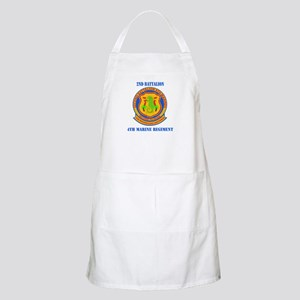 2nd Battalion 4th Marines with Text Apron
