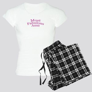 Most Fabulous Aunt Women's Light Pajamas
