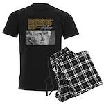 THOMAS JEFFERSON Men's Dark Pajamas