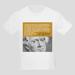 THOMAS JEFFERSON Kids Light T-Shirt