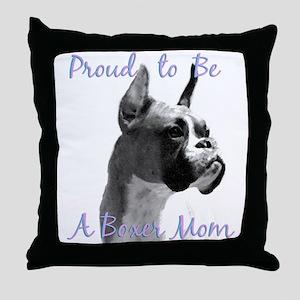 Boxer 3 Throw Pillow