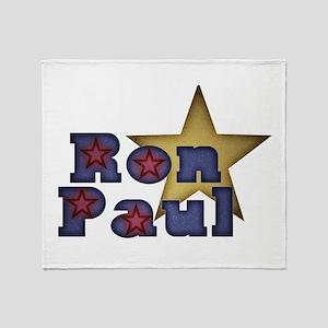 Ron Paul Throw Blanket