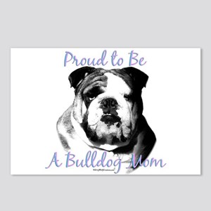 Bulldog 3 Postcards (Package of 8)