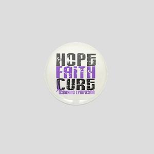 Hope Faith Cure Hodgkin's Lymphoma Mini Button