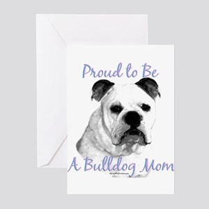 Bulldog 2 Greeting Cards (Pk of 10)