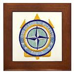 USS CLAUDE V. RICKETTS Framed Tile