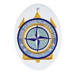 USS CLAUDE V. RICKETTS Ornament (Oval)