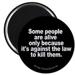 Against the Law Magnet