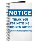Notice! Thank You for... Journal