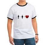 Man + Woman = LOVE Ringer T