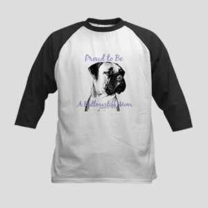 Bullmastiff 2 Kids Baseball Jersey
