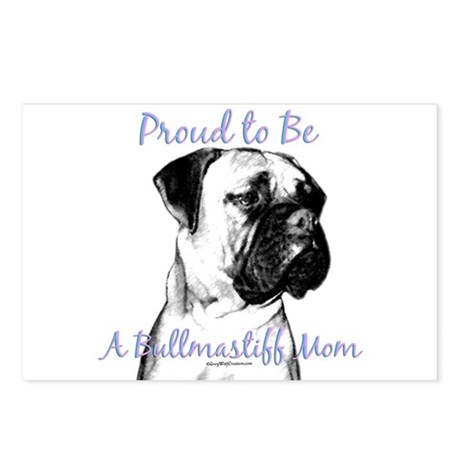 Bullmastiff 2 Postcards (Package of 8)