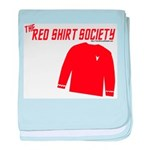 Red Shirt Society baby blanket