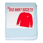 Red Shirt Society baby blanket