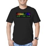 Assimilation Is Not A Family Men's Fitted T-Shirt
