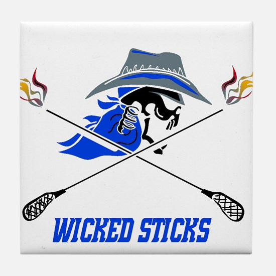 Wicked Sticks Tile Coaster