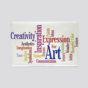 Artist Creative Inspiration Rectangle Magnet