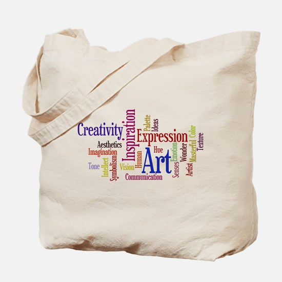 Artist Creative Inspiration Tote Bag