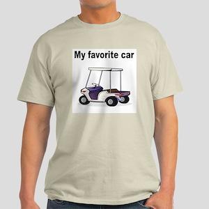 Golf Cart Ash Grey T-Shirt