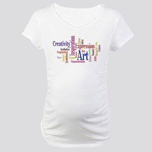 Artist Creative Inspiration Maternity T-Shirt
