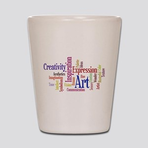 Artist Creative Inspiration Shot Glass