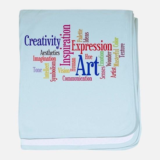 Artist Creative Inspiration baby blanket